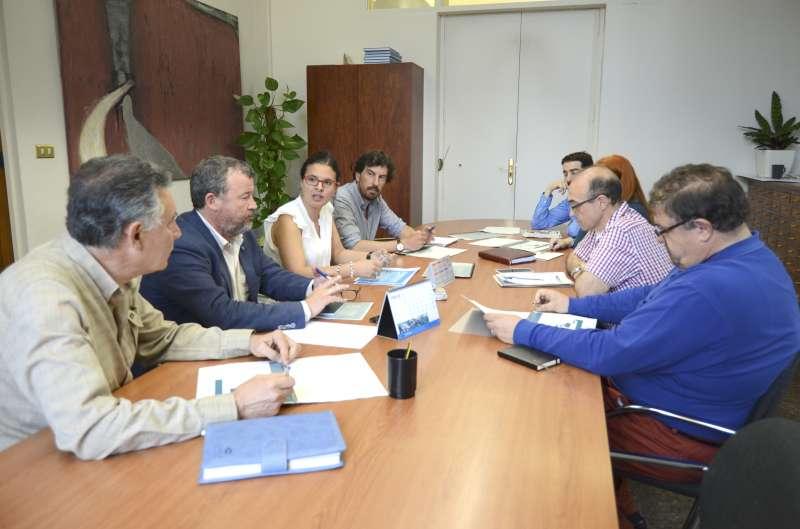 Reunión de la comarca sobre el proceso de reindustrialización. EPDA