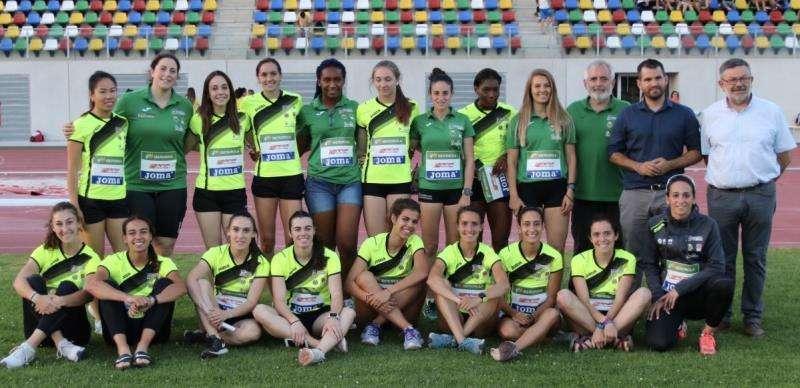 Fotografía del equipo femenino del Playas de Castellón cedida por el club.