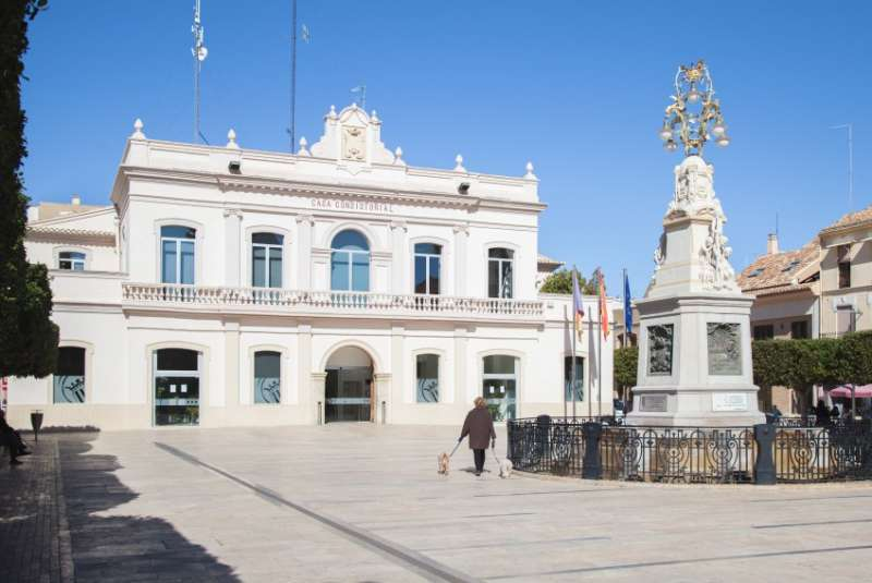 Fachada Ayuntamiento Alfafar