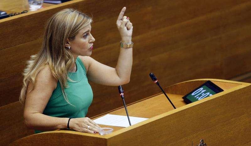 La secretaria general del PPCV, Eva Ortiz. EFE/Archivo