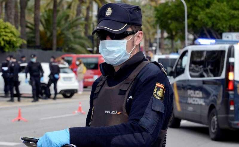 Foto policía archivo