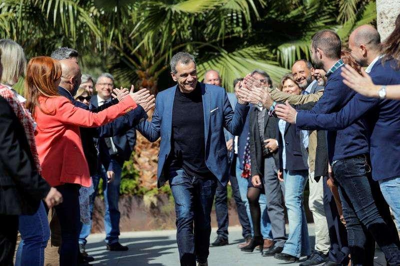 El candidato de Ciudadanos a la Presidencia de la Generalitat, Toni Cantó, en una imagen reciente. EFE