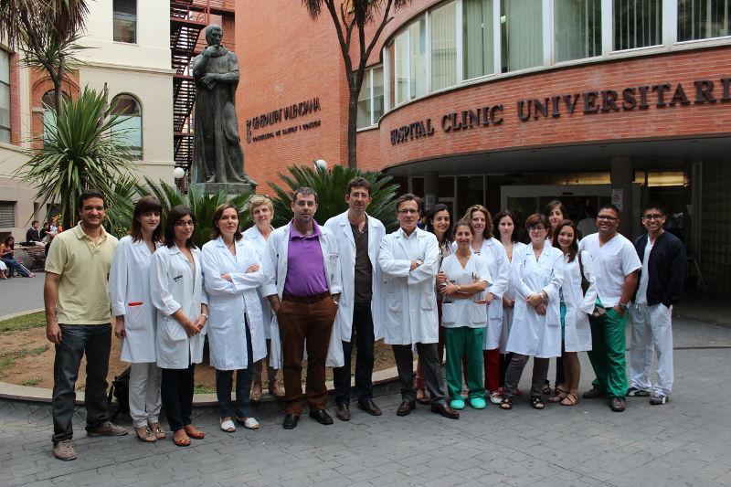 Equipo médico de El Clínico