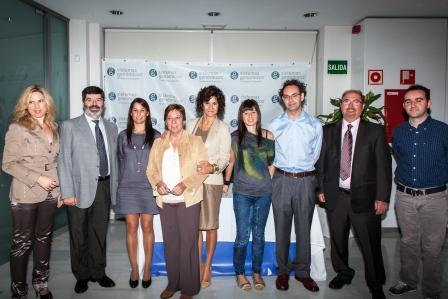 Miembros de la Fundación Sistemas Genómicos y la Fundación para el Fomento de la Investigación Sanitaria y Biomédica de la Comunitat. Foto EPDA
