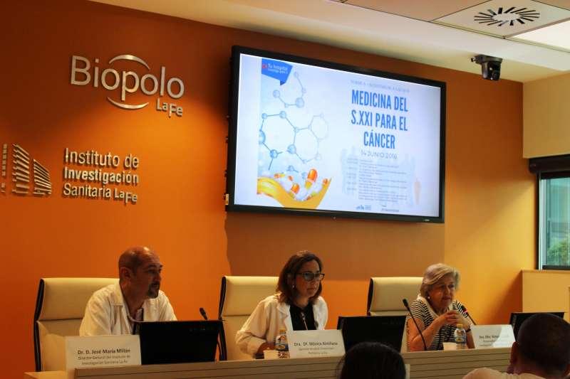 El encuentro ha sido inaugurado por la gerente del departament de Salut València La Fe, la doctora Mònica Almiñana