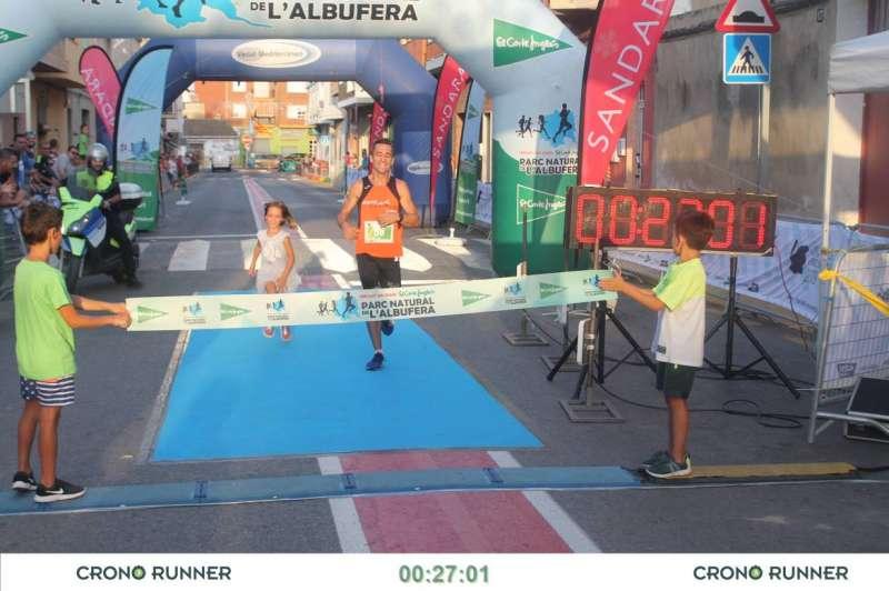 José Luis Almi, ganador en la categoría masculina.