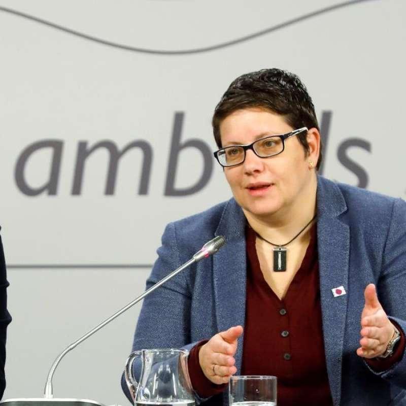 La diputada provincial de Deportes y número 4 de la lista socialista al Congreso en las próximas elecciones generales, Isabel García. EFE/Archivo