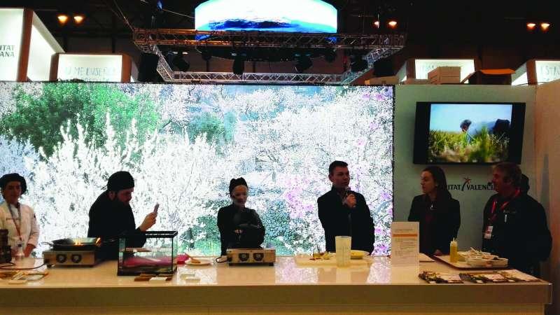 El alcalde de Catarroja presenta el show cooking en FITUR. EPDA