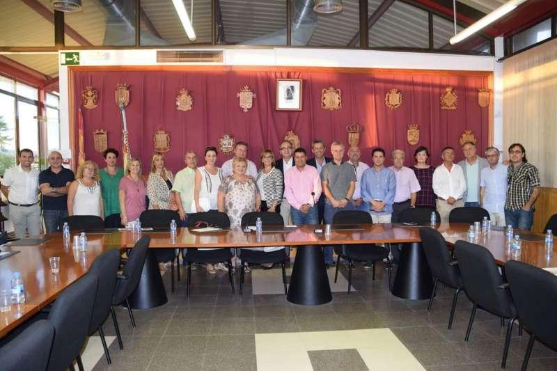 Los miembros de la Mancomunidad de Camp de Túria. //EPDA