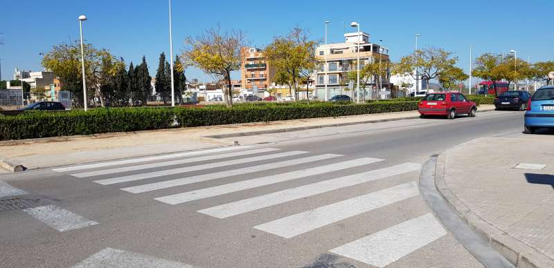 Avenida Sindicalista del Port de Sagunt. EPDA