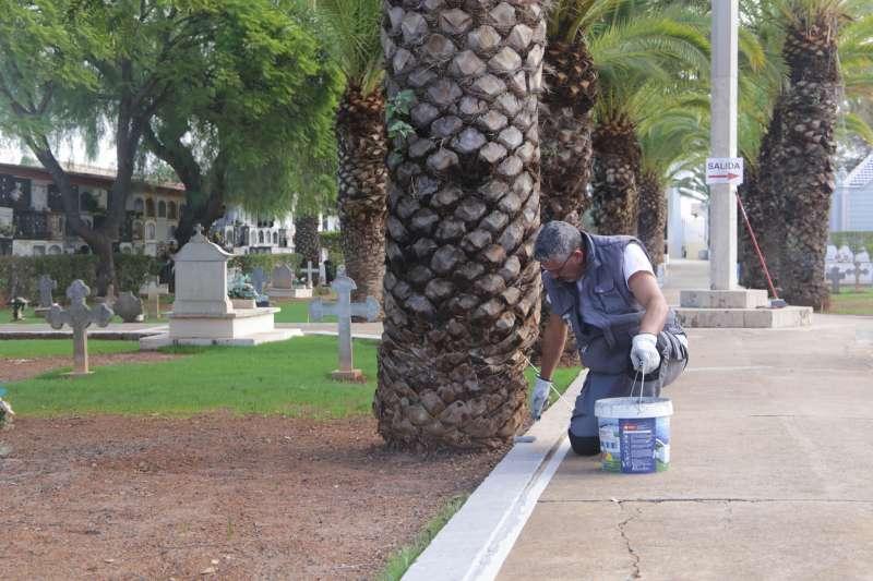 Acondicionamiento del cementerio