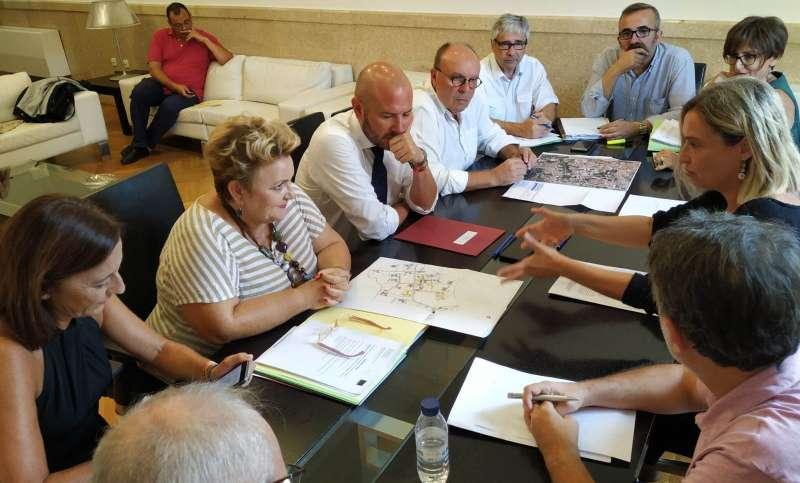 Reunión entre Diputació y Generalitat. EPDA