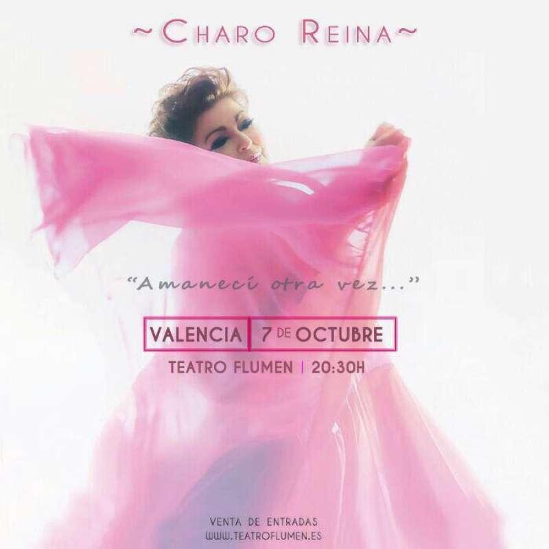 Portada del disco de Charo Reina. FOTO EPDA