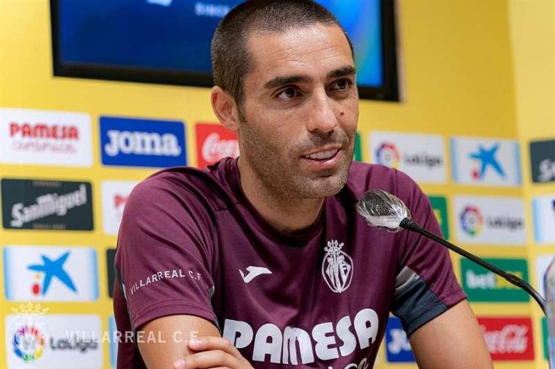 El capitán del Villarreal, Bruno Soriano. EFE.