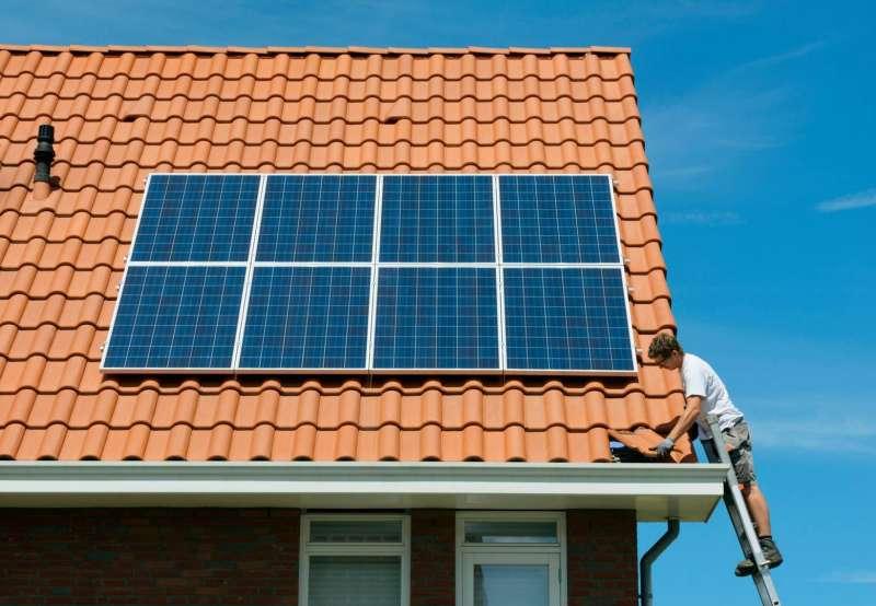 Placa fotovoltaica./EPDA