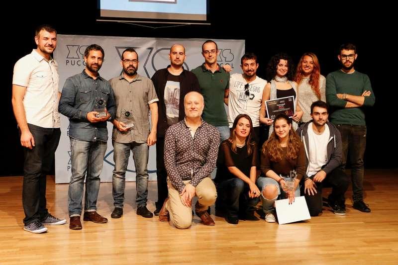 Entrega de premios de la edición pasada.