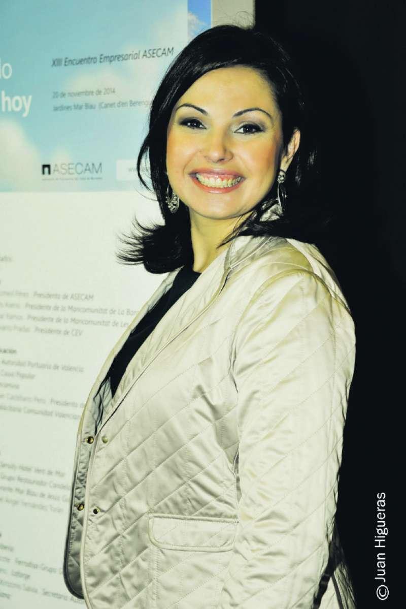 Cristina Plumed, presidenta de Asecam. FOTO EPDA