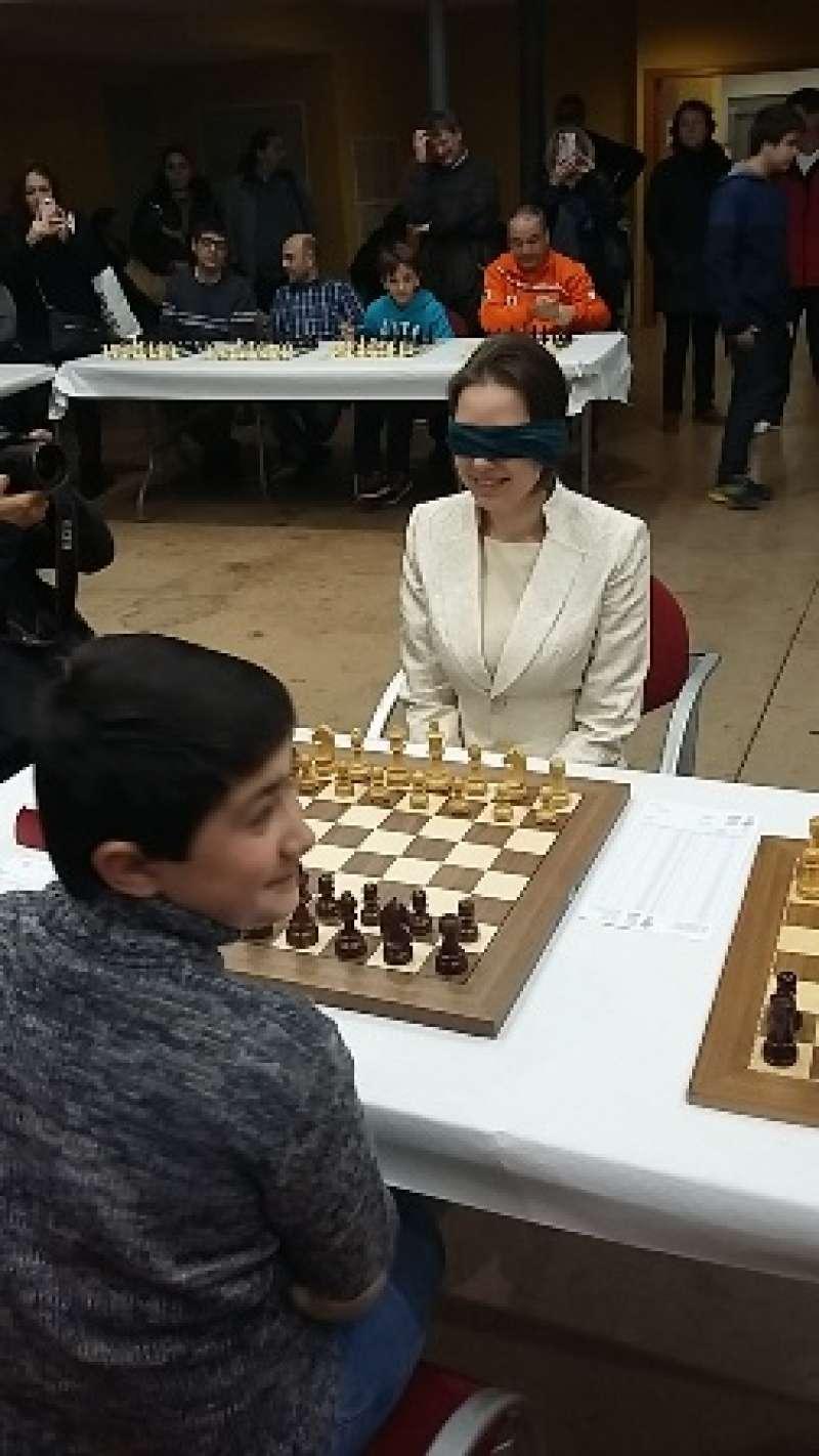 Exhibición de ajedrez. EPDA