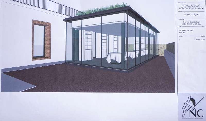 Nuevo espacio showroom que estará próximamente.