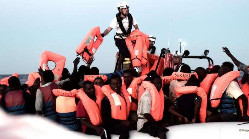 Rescate del Aquarius en el Mediterráneo. ACNUR