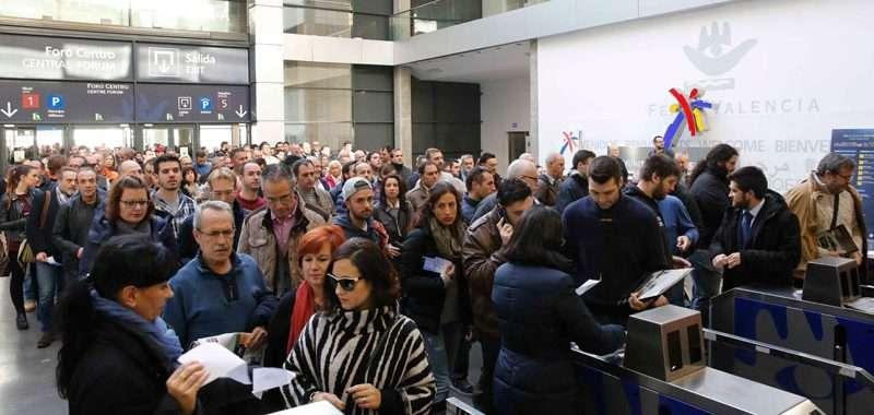 Récord de la Feria del Automóvil en Feria Valencia. FOTO EPDA