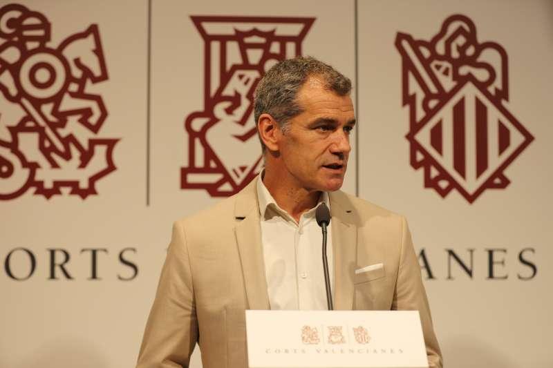 Toni Cantó, síndic de Ciudadanos en Les Corts Valencianes