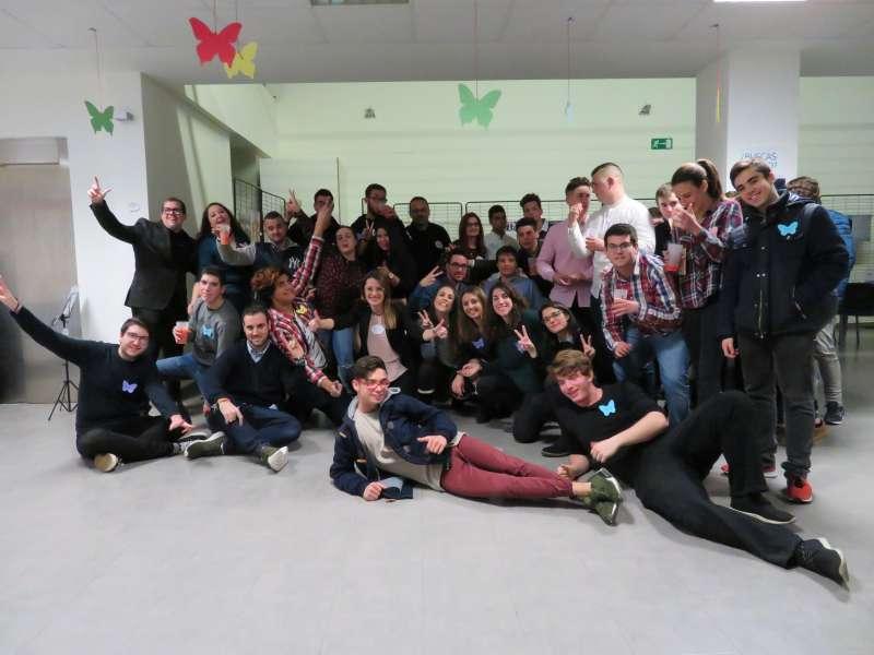 Jóvenes de Alfafar participantes del proyecto de Ocio Alternativo. EPDA