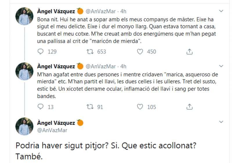Cuenta de Twitter. EPDA