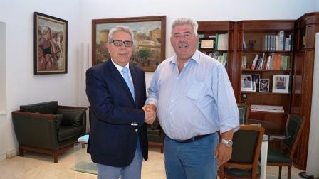 Juan José Medina y José Ramón Grau. Foto EPDA