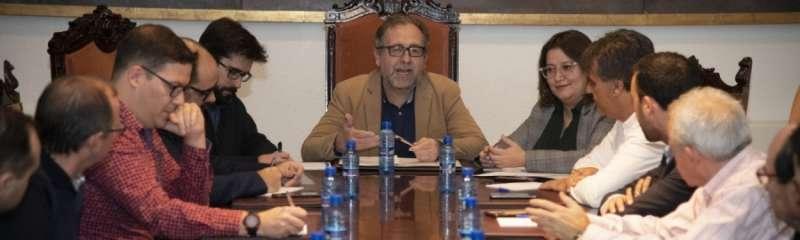 Reunió de la Diputació. EPDA