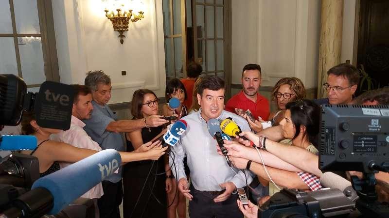 El portavoz de Ciudadanos (Cs) en el Ayuntamiento de Valencia, Fernando Giner.