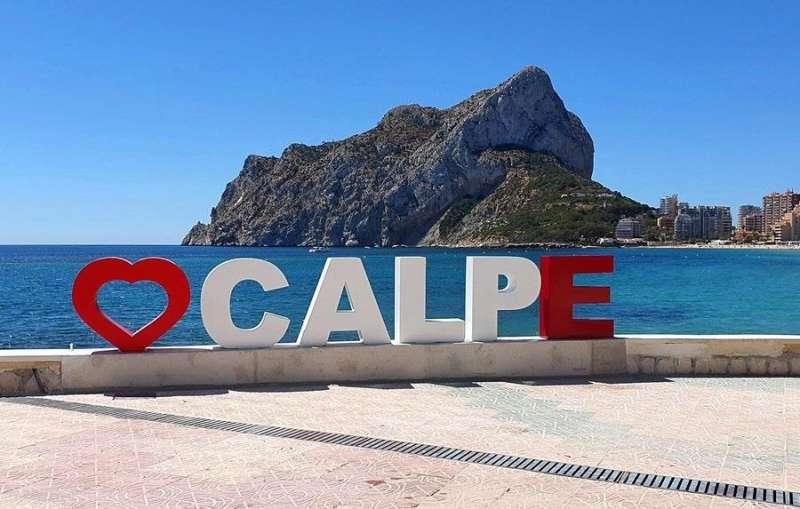 Imagen compartida hoy en redes sociales por el Ayuntamiento de Calpe/Calp.