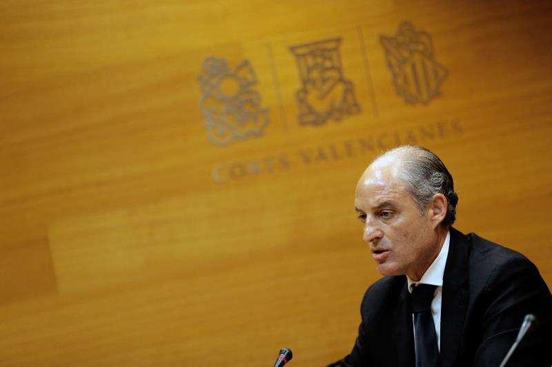 El expresidente de la Generalitat, Francisco Camps. EFE/Archivo