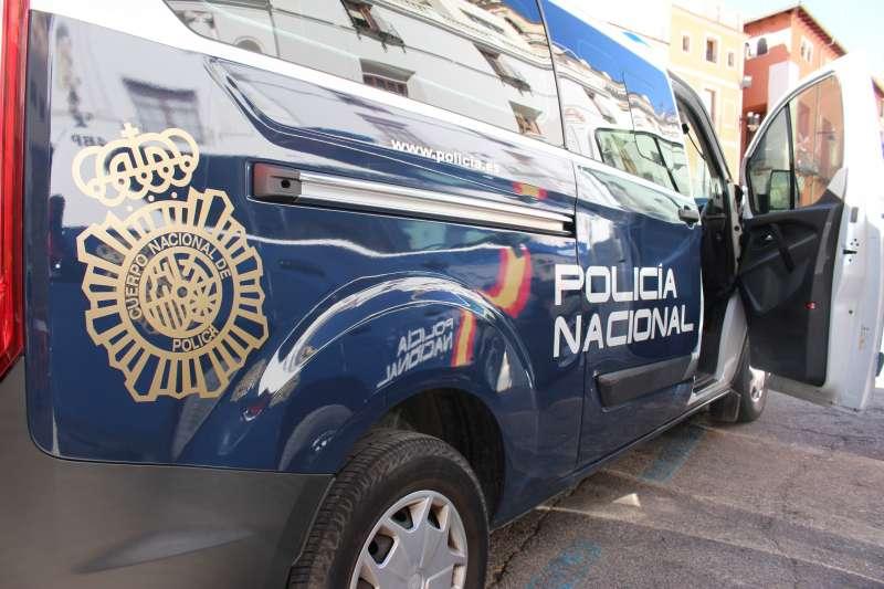 Policia Nacional en el suceso. EPDA