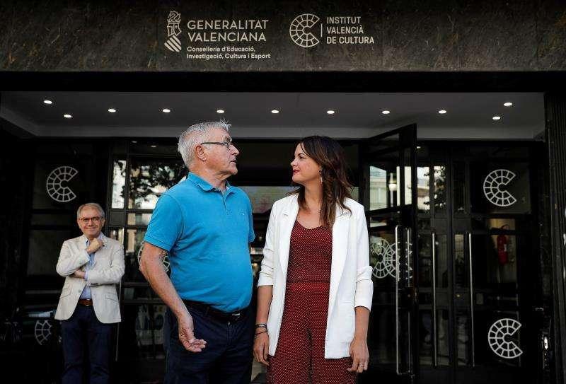 El alcalde de València en funciones, Joan Ribó (Compromís), y la candidata socialista, Sandra Gómez, EFE/Archivo