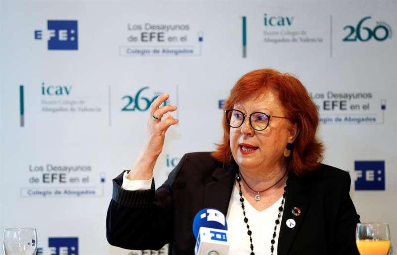La delegada del Gobierno en la Comunitat Valenciana, Gloria Calero.EFE