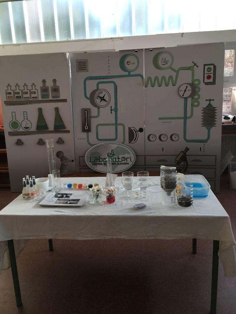 Detalle de la sala donde se desarrollan los talleres que organiza Hidraqua