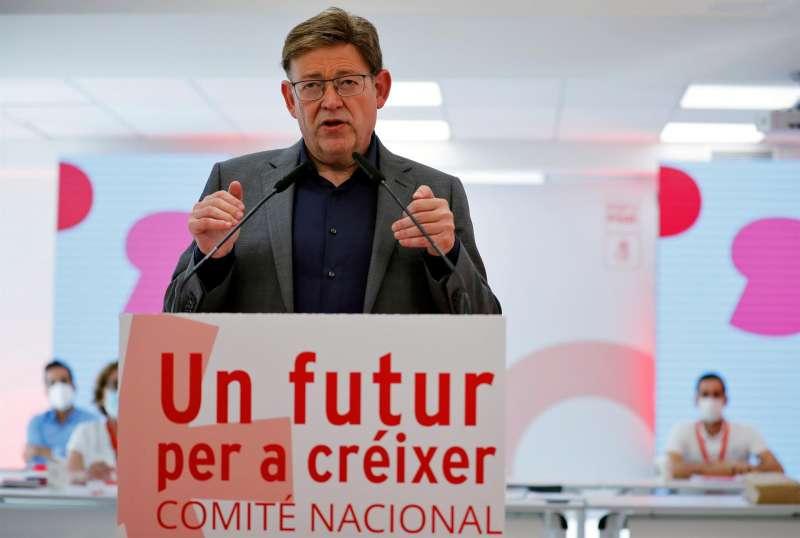 El president de la Generalitat y secretario general del PSPV-PSOE, Ximo Puig. EFE/Archivo Ana Escobar
