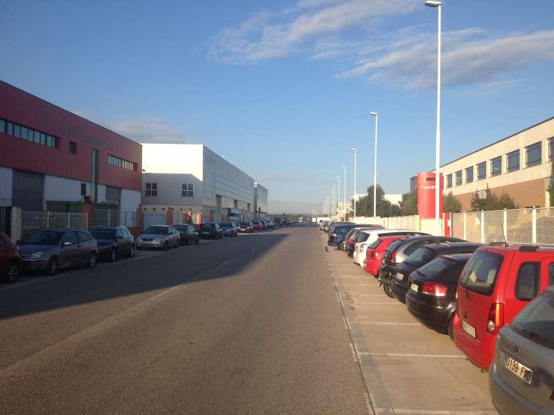 Una calle del polígono de Moncada. FOTO AEMON
