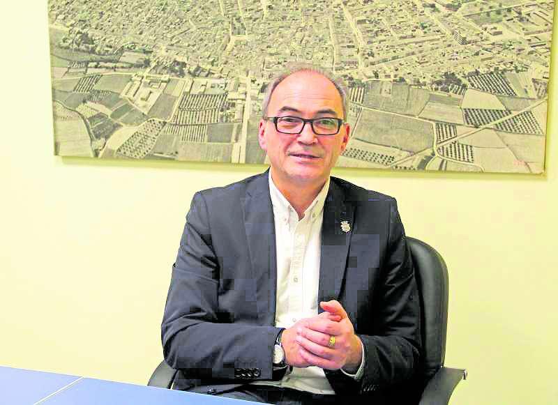 Ximo Segarra, alcalde de Benaguasil./ epda