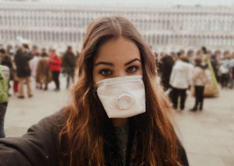 Lucía Ballester en Venecia. EPDA