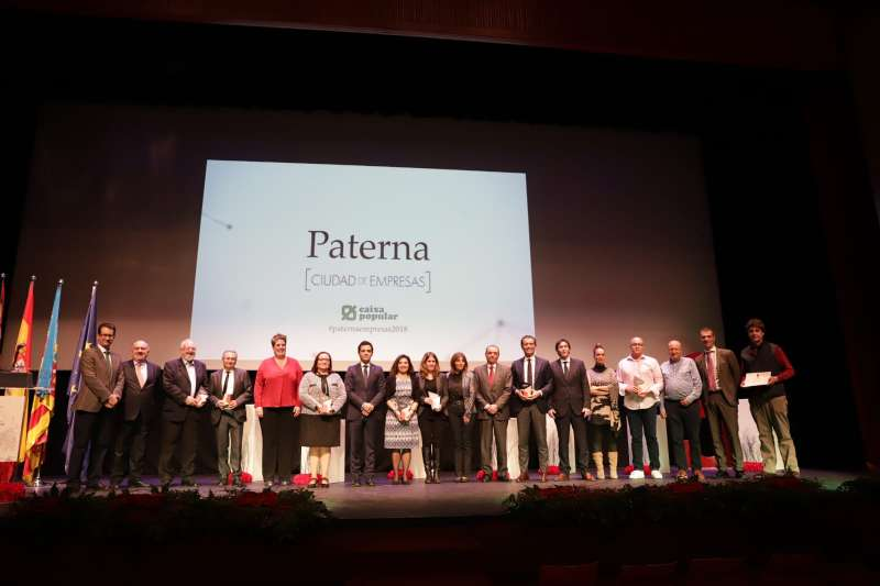 Premiados en la gala en Paterna. EPDA