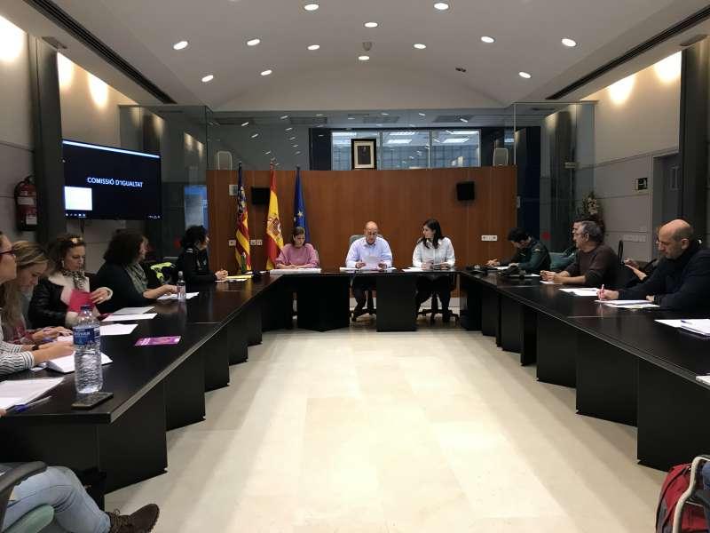 Mesa sobre violencia de género en Massamagrell. EPDA