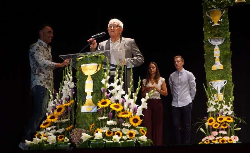 Francisco Ferrer Ramos, premio especial a toda una vida dedicada al deporte del ajedrez. EPDA
