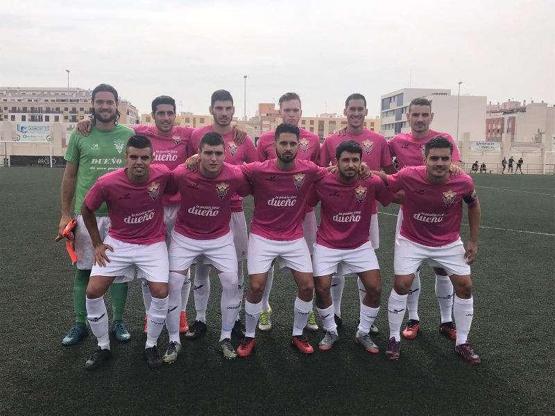 Jugadores del Paiporta CF contra el CD Almazora. EPDA