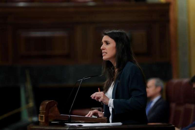 La ministra de Iguadad, Irene Montero. EFE/Archivo
