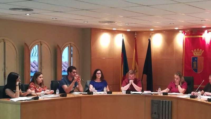 Los concejales del PSOE votaron a favor