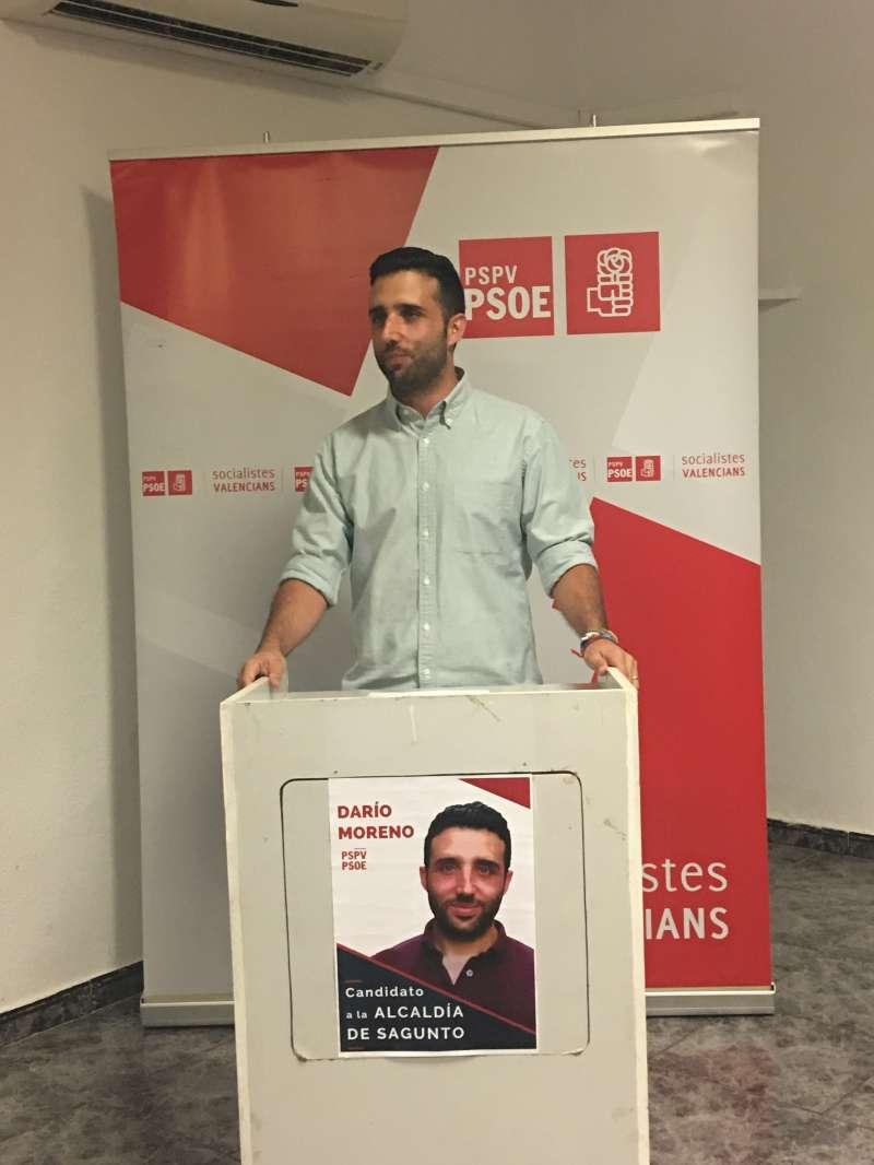 Darío Moreno en su intervención. EPDA