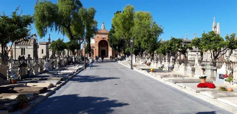 Imagen del cementerio de València. EFE/Ayuntamiento València
