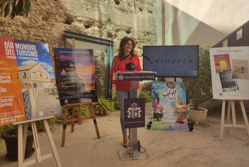 Mariola Rocamora, concejal de Turismo y fiestas